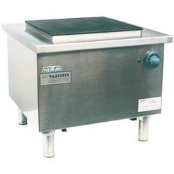 Elektro-Hockerkocher mit einer Kochplatte