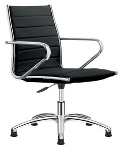 Meetingchair Chef II ohne Rollen