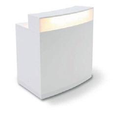 Theke White rund mit Beleuchtung