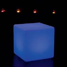 LED Cube mit LED-Beleuchtung